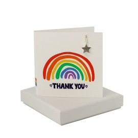 Rainbow Thank You - Star Necklace
